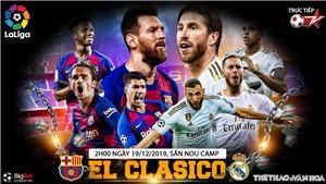 Soi kèo Barcelona vs Real Madrid (2h30 ngày 19/12). Vòng 10 La Liga. Trực tiếp Bóng đá TV