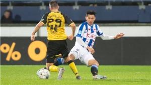 CẬN CẢNH tình huống Văn Hậu nhận thẻ vàng trong trận ra mắt CLB Heerenveen