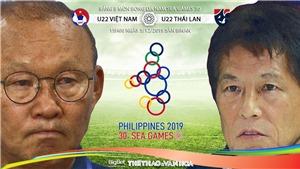 Trực tiếp bóng đá U22 Việt Nam vs U22 Thái Lan. Xem VTV6, VTV5, VTC1, VTC3