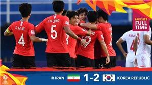 U23 Iran 1-2 U23 Hàn Quốc: Người Hàn vào Tứ kết sớm 1 lượt đấu