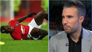 Van Persie: 'Chấn thương của Pogba rất bí ẩn. Cậu ấy cần lên tiếng về tương lai'