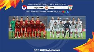 Soi kèo U23 Việt Nam vs U23 UAE (17h15 ngày 10/1). VCK U23 châu Á 2020. VTV6 trực tiếp