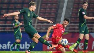 U23 Úc 1-1 U23 Bahrain: Úc giành vé đi tiếp với tư cách nhất bảng A