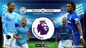Soi kèo Man City đấu với Everton. K+, K+PM trực tiếp bóng đá Ngoại hạng Anh hôm nay