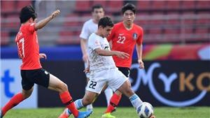 Thua U23 Hàn Quốc 1-2, U23 Uzbekistan vẫn giành vé tứ kết U23 châu Á 2020