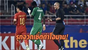 U23 Thái Lan bị loại, CĐV chủ nhà cay cú vì quả 11m gây tranh cãi