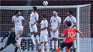 U23 Hàn Quốc 2-1 U23 Jordan: Hàn Quốc vào Bán kết nhờ 'siêu phẩm' phút bù giờ