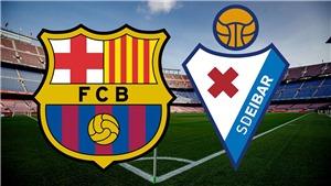 Barcelona 5-0 Eibar: Messi giải cơn khát bàn thắng, Barca tạm chiếm ngôi đầu bảng