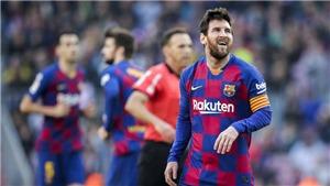 Kết quả bóng đá Barca 5-0 Eibar: Messi lập poker, Barcelona tạm soán ngôi đầu bảng của Real Madrid