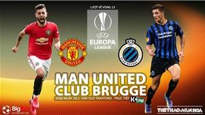 Soi kèo nhà cái MU vs Club Brugge. Trực tiếp K+, K+PM. Trực tiếp cúp C2