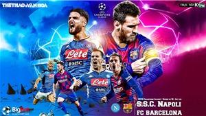 Soi kèo nhà cái Napoli vs Barcelona. Trực tiếp K+PM. Trực tiếp Cúp C1