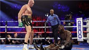 Ra đòn như vũ bão, Tyson Fury hạ knock-out Deontay Wilder