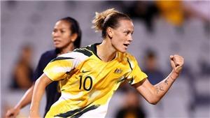 Tuyển nữ Úc thắng Thái Lan 6-0, nhiều khả năng gặp Việt Nam ở vòng play-off