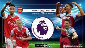 Soi kèo nhà cái Arsenal vs West Ham. K+, K+PM trực tiếp vòng 29 Giải ngoại hạng Anh
