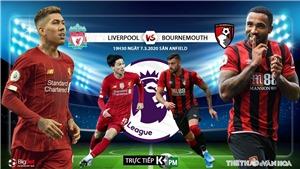 Soi kèo nhà cái Liverpool vs Bournemouth. K+, K+PM trực tiếp vòng 29 Giải ngoại hạng Anh