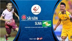 Soi kèo nhà cái Sài Gòn đấu với SLNA. BĐTV trực tiếp vòng 1 V League