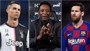 Pele bị 'ăn đủ' vì nhận mình giỏi hơn Messi và Ronaldo