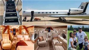 Chiêm ngưỡng chiếc máy bay sang trọng trị giá 12 triệu bảng của Messi