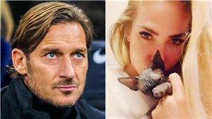 Totti suýt chia tay vợ chỉ vì... một chú mèo