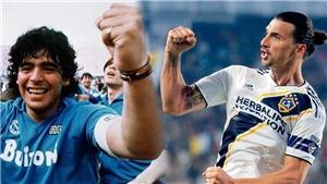 Từ Cantona đến Ibrahimovic và những ngôi sao cá tính nhất trong bóng đá