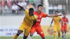 Kết quả bóng đá SLNA 1-0 Bình Định: Sỹ Nam ghi bàn, SLNA giành vé đi tiếp