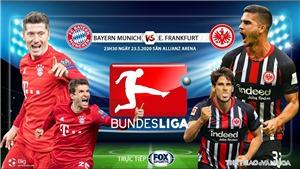 Soi kèo nhà cái Bayern Munich vs Frankfurt. FOX Sports trực tiếp Bundesliga vòng 27
