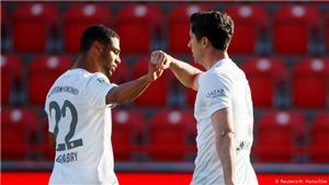 KẾT QUẢ BÓNG ĐÁ, Bayern Munich 5-2 Eintracht Frankfurt: Lewandowski ghi bàn, Bayern Munich giành trọn 3 điểm