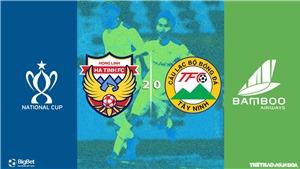 Soi kèo bóng đá Hồng Lĩnh Hà Tĩnh vsTây Ninh. Trực tiếp bóng đá Việt Nam. TTTV