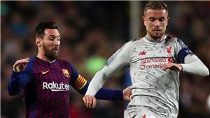 Henderson: 'Messi rất giỏi nhưng tôi không bao giờ đổi áo với anh ta'