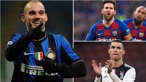 Sneijder: 'Tôi có thể là siêu sao như Ronaldo và Messi nhưng không thích'