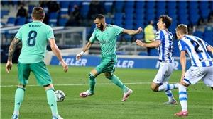VIDEO clip bàn thắng Real Sociedad 1-2 Real Madrid: Real soán ngôi đầu Barca