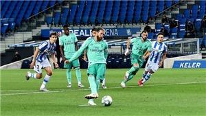 Real Sociedad 1-2 Real Madrid: Benzema toả sáng, Real giành ngôi đầu bảng của Barcelona