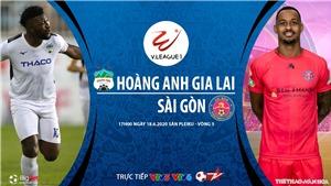 Soi kèo bóng đá HAGL vs Sài Gòn. Trực tiếp bóng đá Việt Nam hôm nay