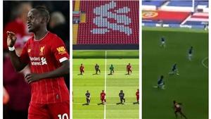 Sadio Mane gây sốt khi... quên thủ tục quỳ gối ở trận gặp Everton