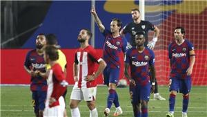 Barcelona 1-0 Athletic Bilbao: Messi kiến tạo cho Rakitic ghi bàn, Barca giành ngôi đầu