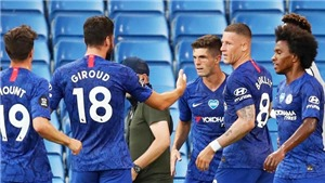VIDEO bàn thắng Chelsea 2-1 Man City: Pulisic, Willian chôn vùi Man City, Liverpool vô địch