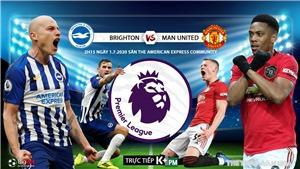 Soi kèo bóng đá Brighton vs MU. Trực tiếp bóng đá Vòng 32 Ngoại hạng Anh. K+. K+PM