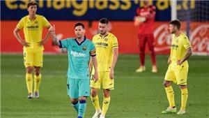 Villarreal 1-4 Barcelona: Messi kiến tạo tuyệt hảo, Barca bám đuổi Real