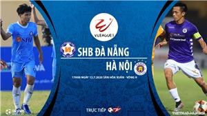 Soi kèo bóng đá Đà Nẵng vs Hà Nội. Trực tiếp bóng đá V League 2020