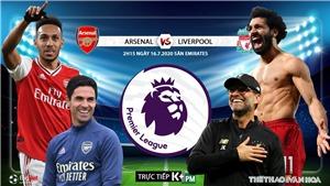 Soi kèo bóng đá Arsenal vs Liverpool. Vòng 36 Giải ngoại hạng Anh. Trực tiếp K+PM