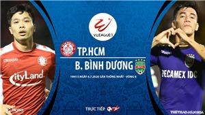 Soi kèo bóng đá TPHCM vsBình Dương. Trực tiếp bóng đá Việt Nam hôm nay