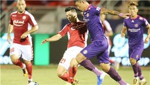 KẾT QUẢ BÓNG ĐÁ, TPHCM 1-2 Bình Dương: Công Phượng ghi bàn, CLB TPHCM vẫn thua trên sân nhà