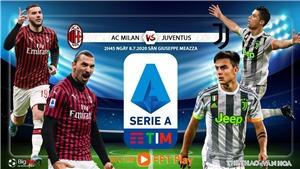 Soi kèo bóng đá AC Milan vs Juventus. Vòng 31 Serie A. Trực tiếp FPTPlay