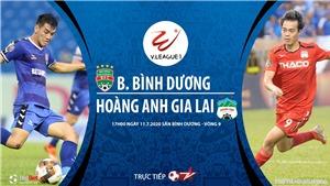 Soi kèo bóng đá Bình Dương vs HAGL. Trực tiếp bóng đá V- League 2020