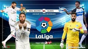 Soi kèo bóng đá Real Madrid vs Alaves. Trực tiếp bóng đá Vòng 35 La Liga. BĐTV