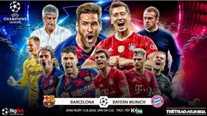 Soi kèo nhà cái Barcelona vs Bayern Munich. Tứ kết Cúp C1 châu Âu. Trực tiếp K+PM