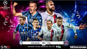 Soi kèo nhà cái Atalanta vs PSG. Tứ kết Cúp C1 châu Âu. Trực tiếp K+PM