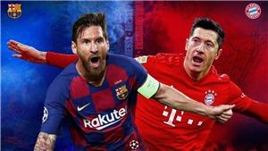 Cập nhật trực tiếp bóng đá cúp C1 châu Âu: Barcelona vs Bayern Munich