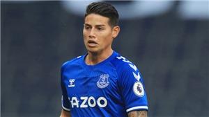 Chỉ sau 1 trận, James Rodriguez đã trở thành ngôi sao số 1 của Everton