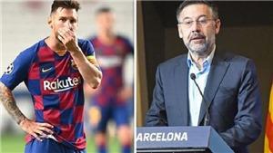"""Chuyển nhượng Liga 2/9: Messi bị Bartomeu lừa dối. Koeman """"Hà Lan hoá"""" Barca"""